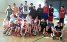 U13 & U14 players at 3on3