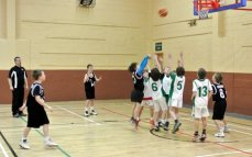 Some Action from Moycullen V Corrib Blacks