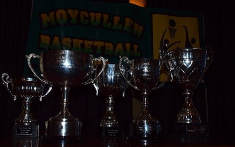 A few of the trophies won this season