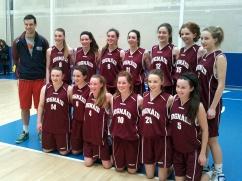 16 Girls; Championship Winners