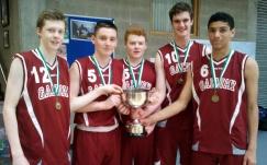 Moycullen players on U17 Boys; Kyle Cunningham, Dara O Sullivan, Jack Costelloe, Joe Tummon, Josh Marvesley