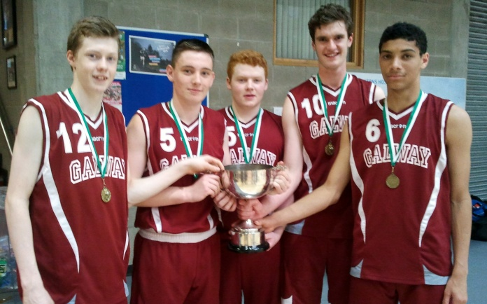 Moycullen players on U17 Boys; Kyle Cunningham, Dara O Sullivan, Jack Costelloe, Joe Tummon, Josh Marvesley