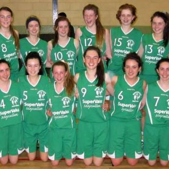 Catherine & Aine were part of the Moycullen U16 Girls that won the All-Ireland competition