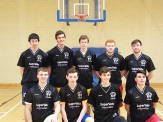 U20 Men in Supervalu gear