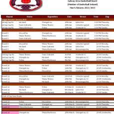 GL Men Fixtures