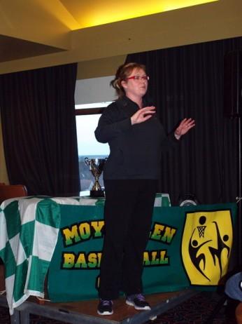 Club Secretary Annie Costello
