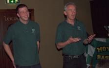 Barry & Dylan share the U14 Boys success