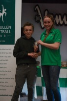 U12 Boys Most Imporved Adam Byrne