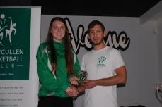 Aine McDonagh U18 Team