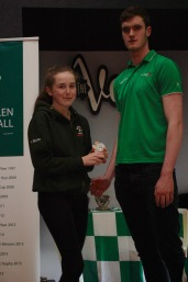 U15 Girls Most Improved Aoife Burke