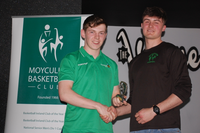 Connor Curran U18 Boys Team