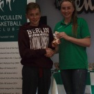 U13 Boys Player of the Year Dara Parsons