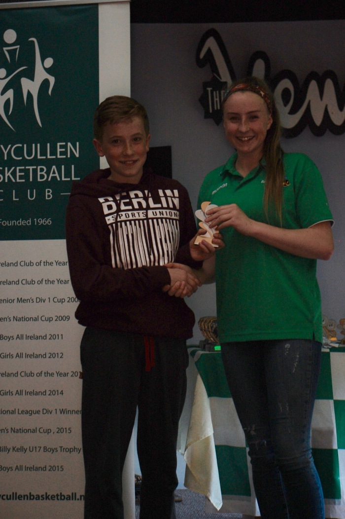 Dara Parsons U13 Player of the Year