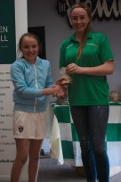 U12 Girls Player of the Year Eimear Burke