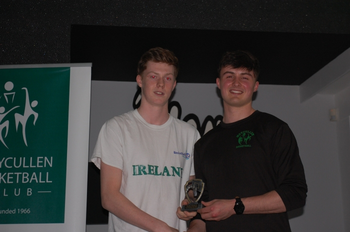 Kyle Cunningham U20 Mens Team