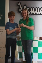 U13 Boys Most Improved Martin Flaherty