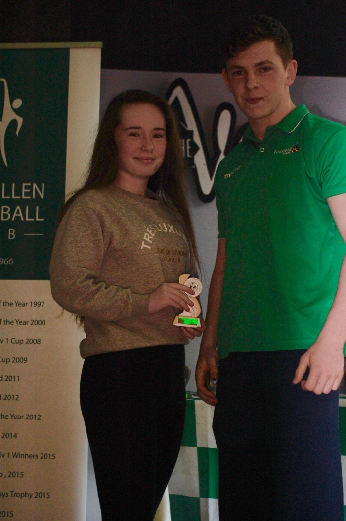 Mia Fitzgerald U14 Girls Player of the Year