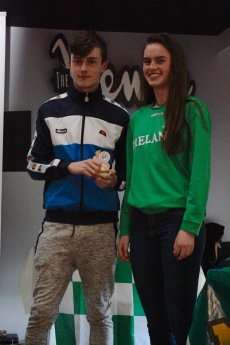 U16 Boys Most Imporved Paul Culkeen