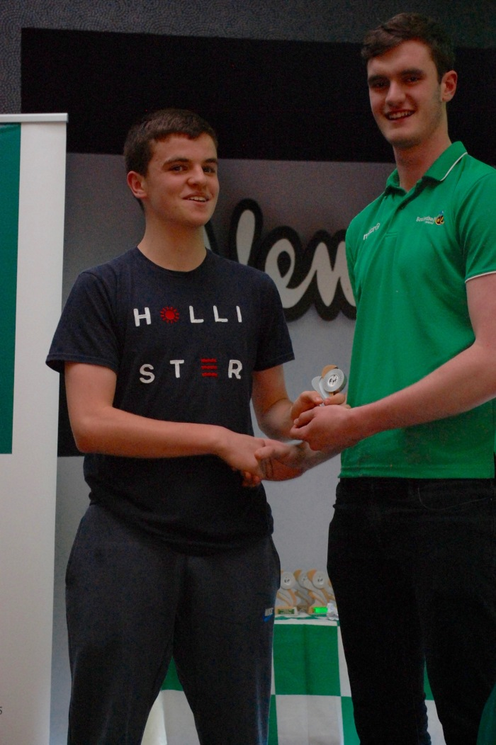 Paul Kelly U15 Boys Player of the Year