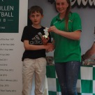 U12 Boys Player of the Year Rory O'Sullivan