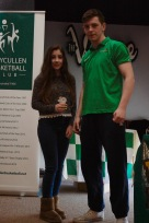 U14 Girls Most Improved Sarah Melia