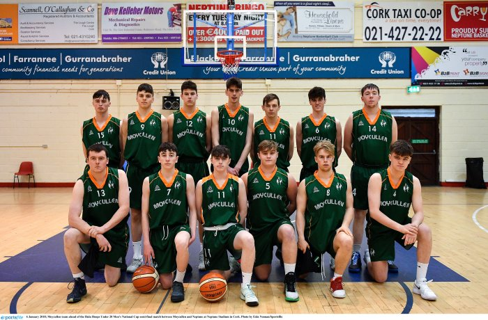 Moycullen v Neptune - Hula Hoops Under 20 Men's National Cup semi-final