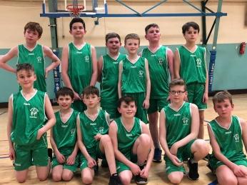 U12 Team at the Cork County Board