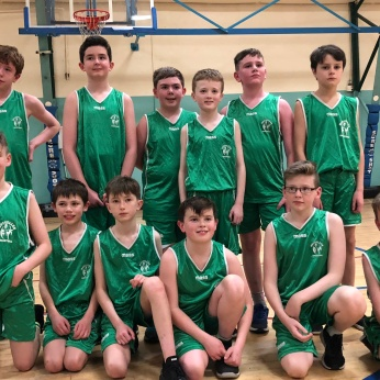 U12 Team at the Cork County Board