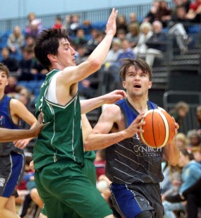Moycullen v Maree Super League Basketball game