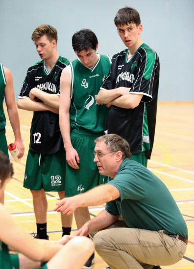 Moycullen v Maree Super League Basketball game at the Kingfisher, NUI Galway.