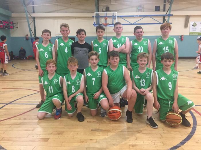 U13 Team in Cork